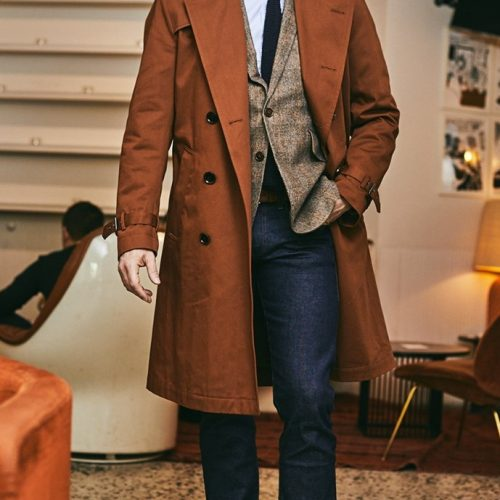 Le TRENCH : un incontournable du dressing masculin