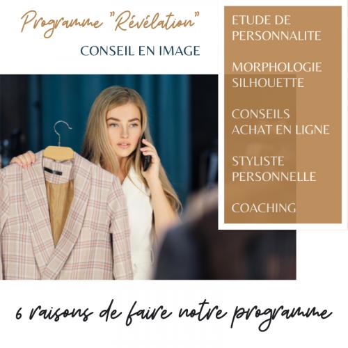 Le 1er programme en France de conseil en image en ligne